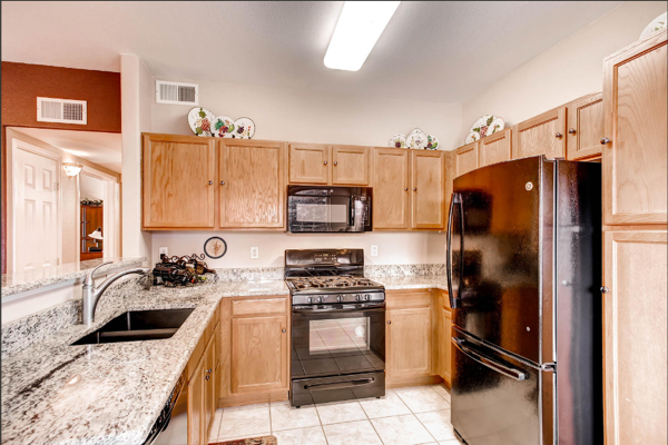 home staging consultation report kitchen after