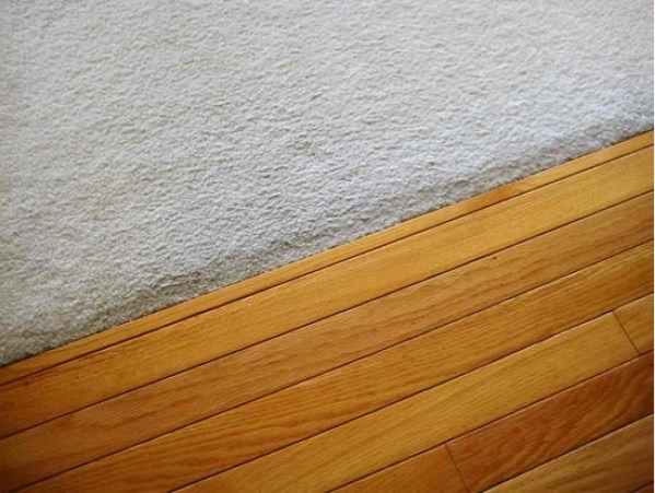 Hardwood flooring refinishing carpet